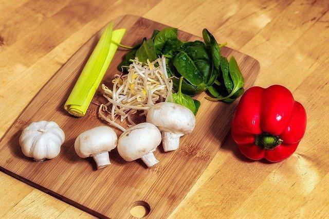 zelenina a klíčky