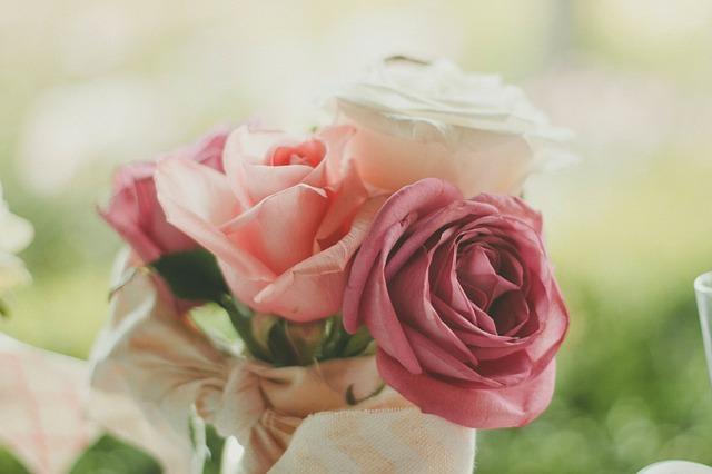 romantická kytička