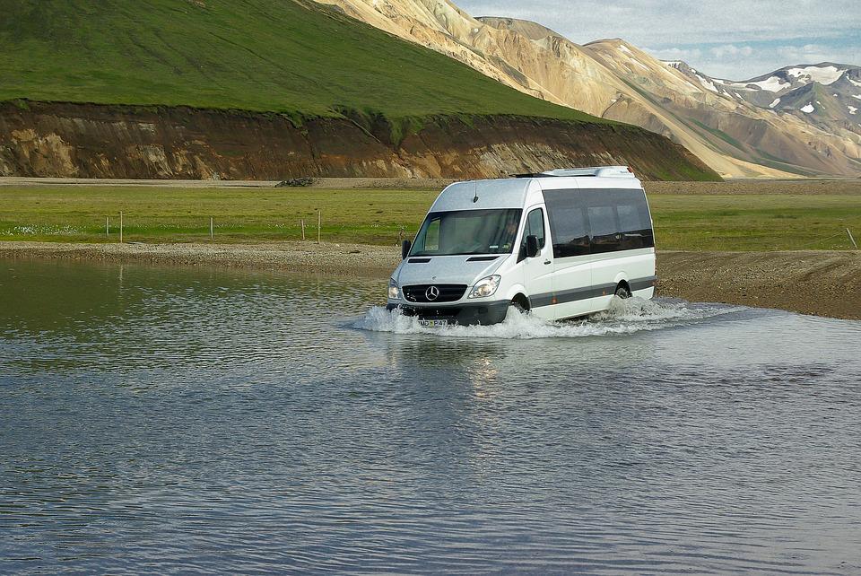 minibus na dovolené